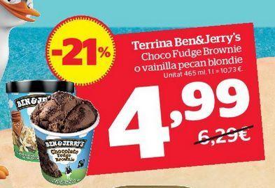 Oferta de Tarrina de helado por 4,99€