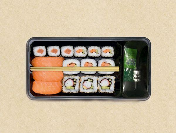 Oferta de Sushi 15 piezas por 7,41€