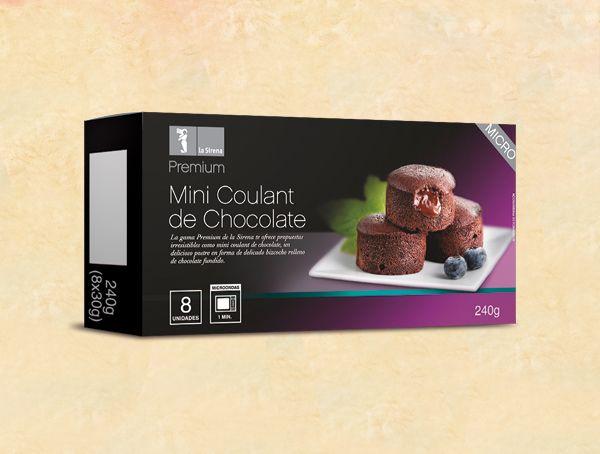 Oferta de Mini coulant de chocolate Premium por 4,34€