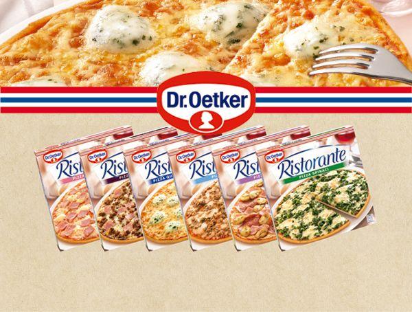 Oferta de Pizza fina Ristorante Dr. Oetker Diferentes variedades por 3,65€