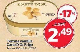 Oferta de Tarrina de helado Carte d'Or por 2,49€