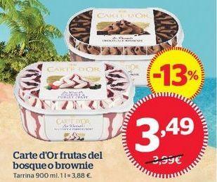 Oferta de Tarrina de helado Carte d'Or por 3,49€
