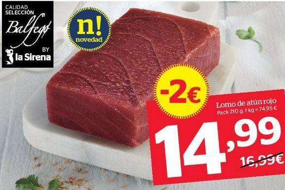 Oferta de Atún por 14,99€