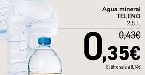 Oferta de Agua mineral TELENO por 0,35€