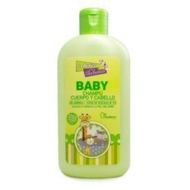 Oferta de Champú cuerpo y cabello Baby 200ml por 2,95€