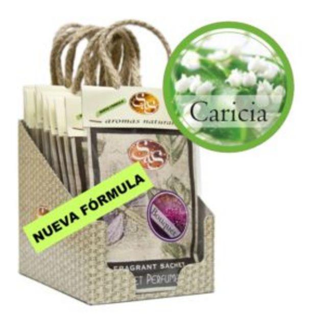 Oferta de Sachet Perfumado Caricias 20g por 2,5€