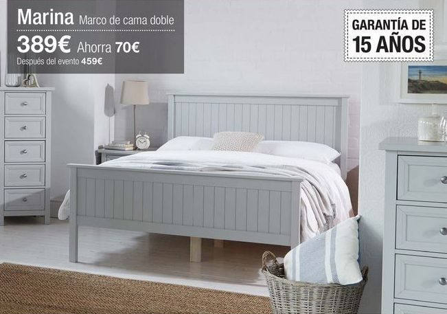 Oferta de Estructura cama por 389€