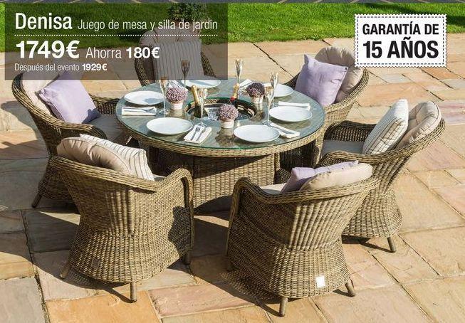 Oferta de Conjunto de jardín por 1749€