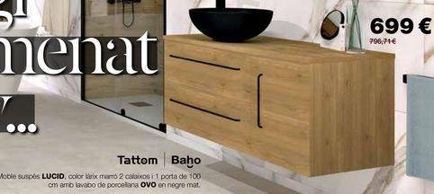 Oferta de Muebles de baño por 699€