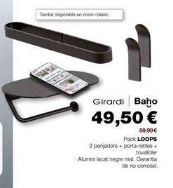 Oferta de Accesorios para baño por 49,5€