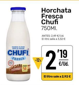 Oferta de Horchata por 2,19€