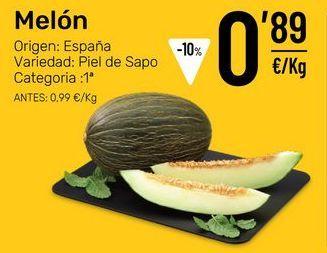 Oferta de Melón por 0,89€