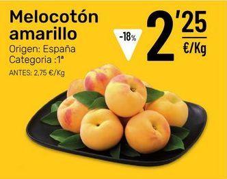 Oferta de Melocotones por 2,25€