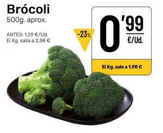 Oferta de Brócoli por