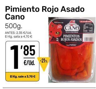Oferta de Pimientos asados Cano por 1,85€