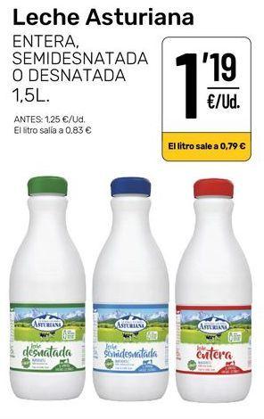 Oferta de Leche Asturiana por 1,19€