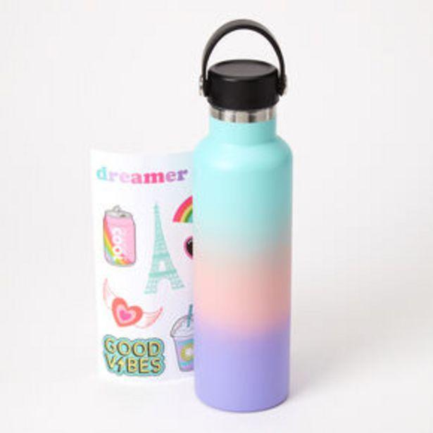 Oferta de Pastel Ombre Sticker Water Bottle por 12€