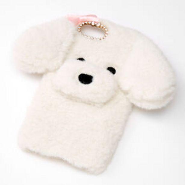 Oferta de Furry White Dog Phone Case - Fits iPhone 6/7/8/SE por 2,25€