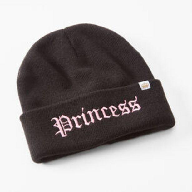Oferta de Princess Beanie Hat - Black por 7,2€