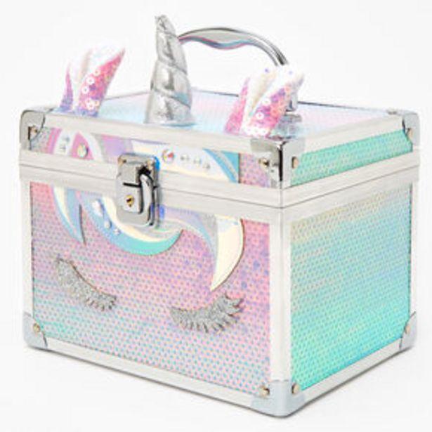 Oferta de Pastel Unicorn Sequin Lock Box por 15€