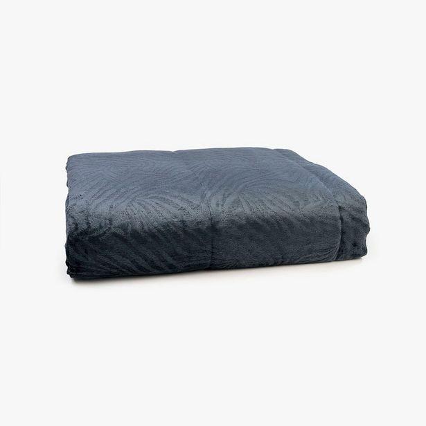 Oferta de Edredón Jungle fever Cebra Azul oscuro 240x260 m por 119,99€