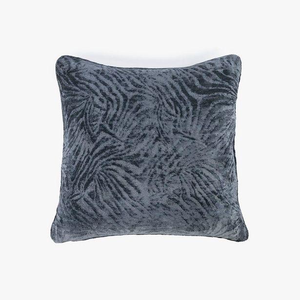 Oferta de Funda Cojín Jungle fever Cebra Azul oscuro 60x60 cm por 17,99€