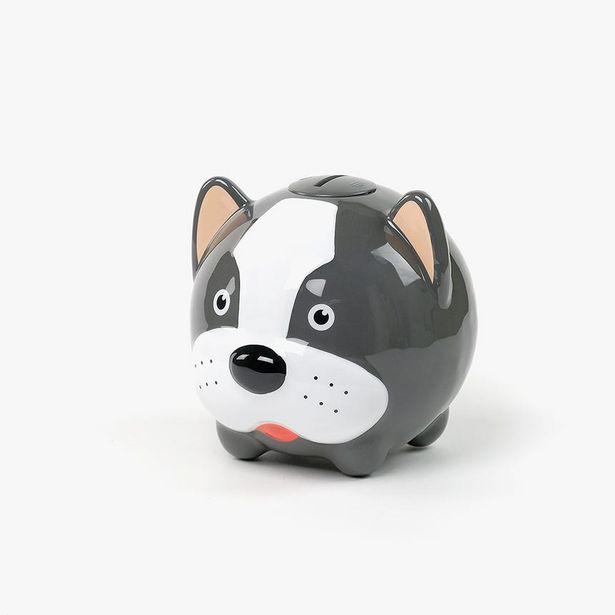 Oferta de Hucha perro Blanco y Negro por 9,99€