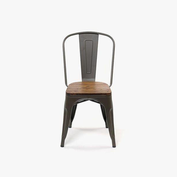 Oferta de Silla Factory Wood 51x44x84 cm por 62,99€