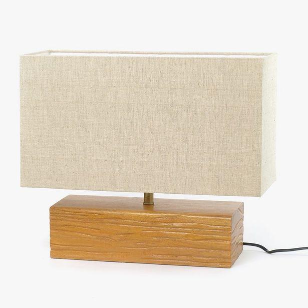 Oferta de Lámpara de Mesa Blockwood por 99,99€