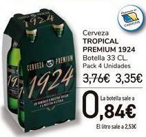 Oferta de Cerveza TROPICAL PREMIUM 1924  por 3,35€