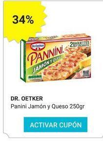 Oferta de Paninis Dr Oetker por