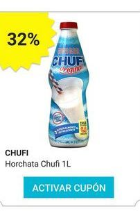 Oferta de Bebidas naturales Chufi por
