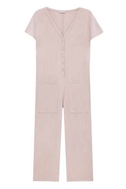 Oferta de Mono culotte botones delanteros por 22,99€