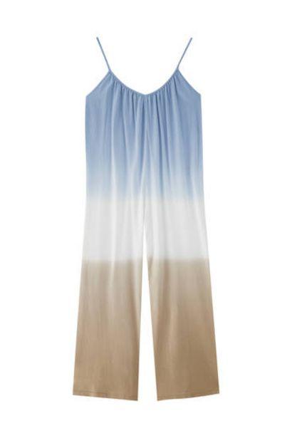 Oferta de Mono largo tie-dye tirantes por 7,99€