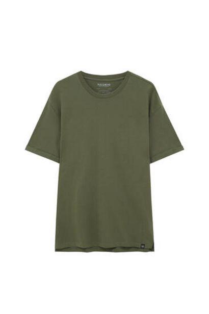 Oferta de Camiseta básica colores long fit por 7,99€