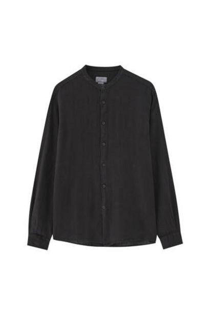 Oferta de Camisa cuello mao lino - 100% lino de cultivo europeo por 9,99€