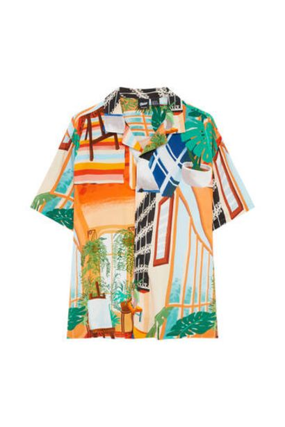 Oferta de Camisa print casa por 19,99€