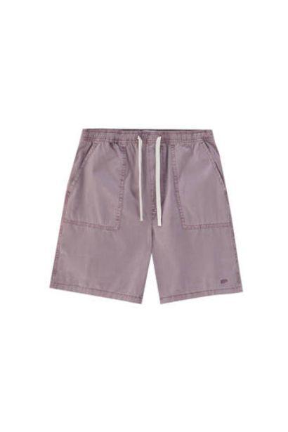 Oferta de Bermuda STWD garment dyed por 9,99€