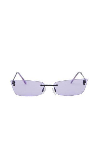 Oferta de Gafas sol rectangular sin montura por 9,99€