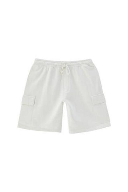 Oferta de Bermuda cargo garment dyed - Algodón orgánico (al menos 50%) por 9,99€