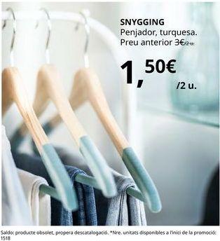 Oferta de Perchas por 1,5€