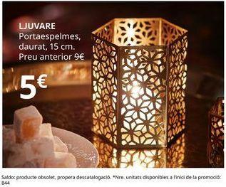 Oferta de Portalámparas por 5€