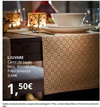 Oferta de Camino de mesa por 1,5€