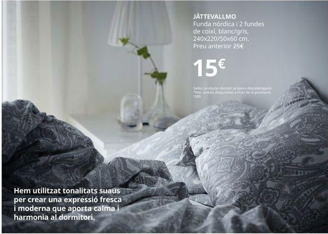 Oferta de Funda nórdica por 15€