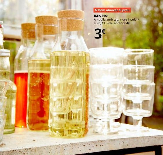 Oferta de Botella de vidrio por 3€