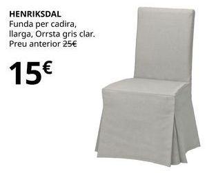 Oferta de Funda de silla por 15€
