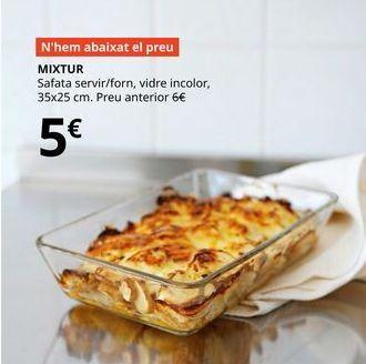 Oferta de Fuente de horno por 5€