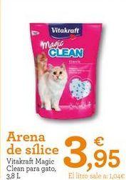 Oferta de Arena para gatos Vitakraft por 3,95€