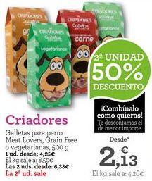 Oferta de Snacks para mascotas por 4,25€