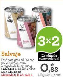 Oferta de Paté para gatos por 1,25€